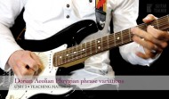 Dorian, Aeolian and Phrygian phrase variations