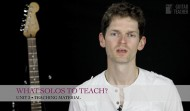 What solos to teach?