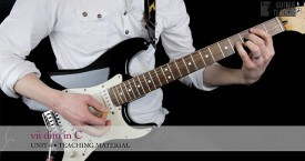 Be A Guitar Teacher - Unit 4 - vii diminished chord