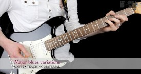 Be A Guitar Teacher - Unit 2 - Major blues variations