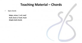 Be A Guitar Teacher - Unit 2 - Open chords