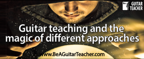 Guitar teaching and the magic of different approaches