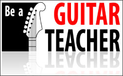 Be a guitar teacher course